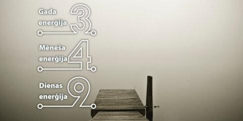 14. janvāra numeroloģiskais dienas fons