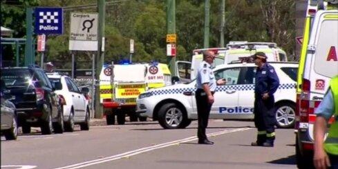 Austrālijā policijas iecirknī nošauts vīrietis
