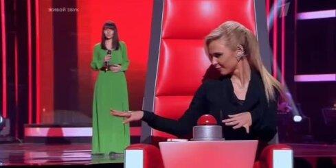 Шоу 'Голос'. Ирина Буренкова 'Woman in love'