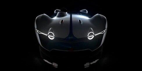 Virtuālais superauto 'Alpine Vision Gran Turismo'