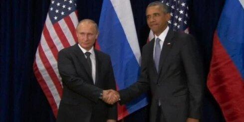 Встреча Путина и Обамы продлилась более полутора часов