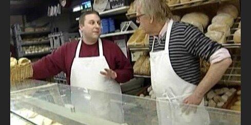 Rītiņš cep angļu maizi