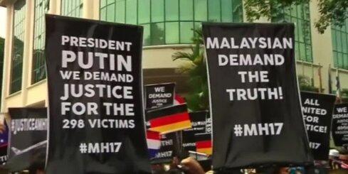 Malaizijas galvaspilsētā Kualalumpurā protesti pie Krievijas vēstniecības