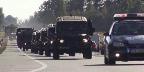 Lielvārdē ierodas NATO spēki