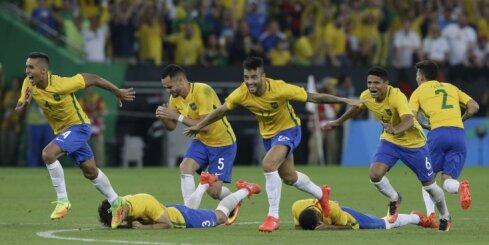 ВИДЕО: Футболисты Бразилии наконец-то выиграли Олимпиаду