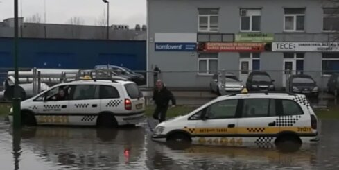 Milzu plūdi Klaipēdā