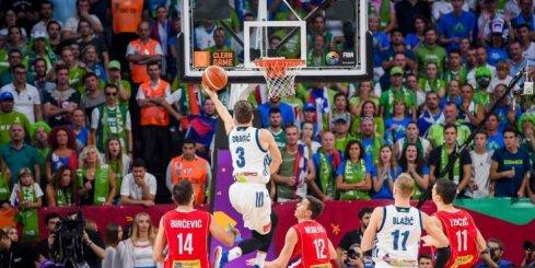 'Eurobasket 2017' vērtīgākais spēlētājs Dragičs lepns par Slovēnijas izlasi