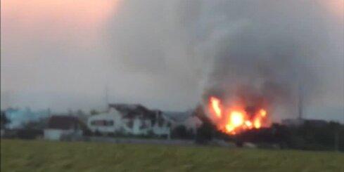 Kaujās izpostītā Luhanskas lidosta