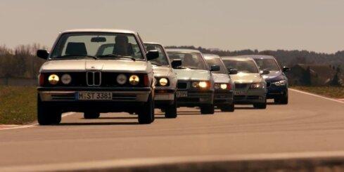 BMW 3. sērijas 40 gadu vēsture