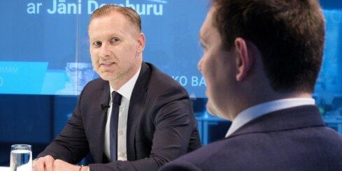 'Delfi TV ar Jāni Domburu' studijā 'KPV LV' – atbild Kaimiņš un Gobzems