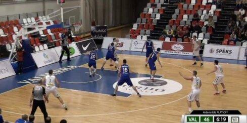 'Aldaris Latvijas Basketbola Līga' - 'BK Valmiera' - 'Jūrmala/Fēnikss' - 19. aprīļa spēle