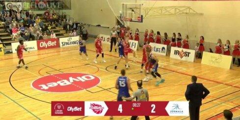'Jūrmala' basketbolisti uzvar Raplā