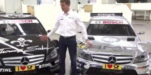 Deivids Kulthārds iepazīstina ar jauno DTM auto