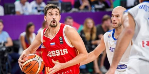 Сборная России одолела греков и вышла в полуфинал Евробаскета