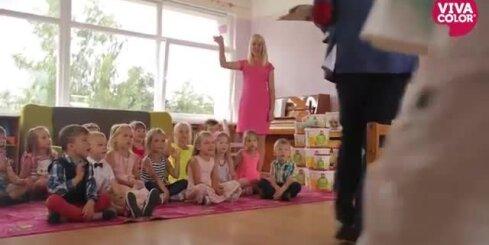 Sociālais projekts 'Košas sienas – krāsainas dienas' Latvijas bērnudārzu atbalstam