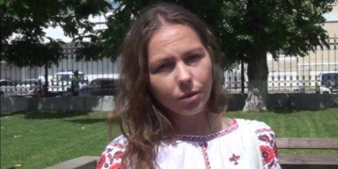 Ukraina protestē pret aizliegumu Savčenko māsai iebraukt Krievijā