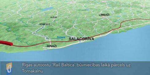 Rīgas autoostu 'Rail Baltica' būvniecības laikā pārcels uz Torņakalnu