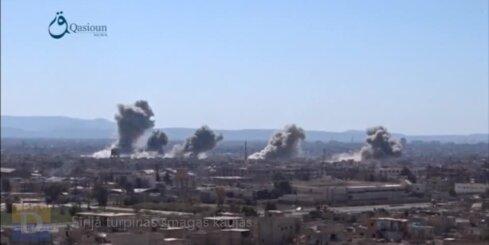 Sīrijā turpinās smagas kaujas