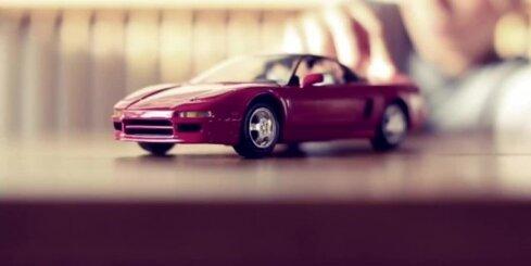 Superauto 'Acura NSX' sērijveida versija