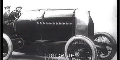 1913. gadā ar 'Fiat S76' mēģina uzstādīt ātruma rekordu