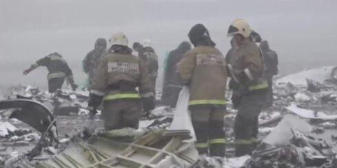 Lidmašīnas avārijā Krievijā vairāk nekā 60 bojāgājušo; atrastas abas 'melnās kastes'