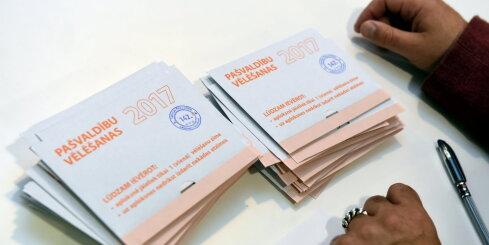 Требуют отменить результаты выборов на 38 рижских избирательных участках