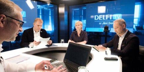 Par ko balsot? 'Delfi TV ar Jāni Domburu' atbild 'Jaunā konservatīvā partija'