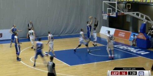 'Aldaris Latvijas Basketbola Līga' - 'Liepāja/Triobet' - 'BK Ventspils' - spēles ieraksts