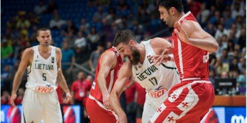 Video: Lietuvas basketbolisti pirmajā spēlē paklūp uz Gruzijas šķēršļiem
