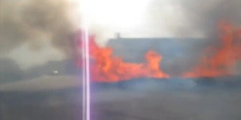 Milzīgs meža ugunsgrēks Sibīrijas dienvidos