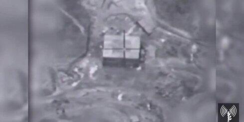 Izraēlas gaisa spēki Sīrijā bombardē atomreaktoru