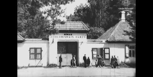 Arhīva video: Rīgas Zoodārzs 1946. gadā