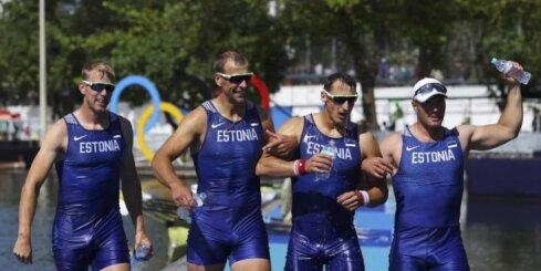 Igaunija tiek pie Baltijas pirmās Rio olimpisko spēļu medaļas