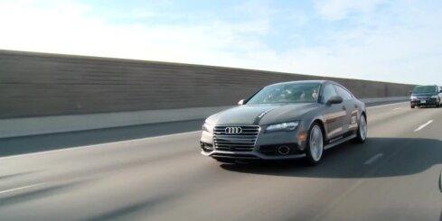 Bezpilota 'Audi A7' devies 900 km ceļojumā