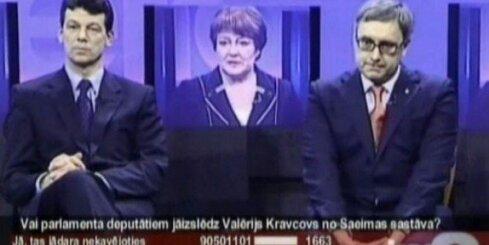 Kas notiek ar deputātu Kravcovu un valsts valodu Saeimā?