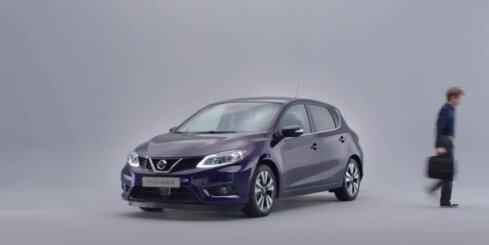'Nissan' prezentējis kompakto piecdurvju hečbeku 'Pulsar'