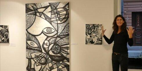 'Delfi' piedāvā iespēju ar acu kaktiņu ielūkoties Ievas Blūmas gleznu izstādē