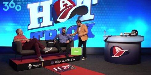 Raivis Vidzis pievienojas raidījuma 'Hattrick' vadītāju komandai