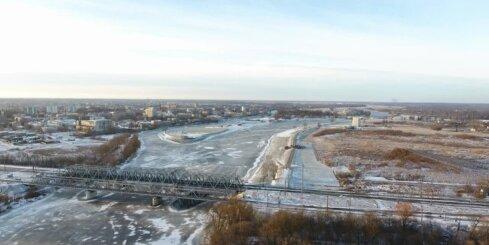Jelgava, putna lidojums virs Pasta salas