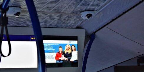 Krišjānis Liepiņš: Vai 'Saskaņas' aģitācija sabiedriskā transporta monitoros ir likumīga?