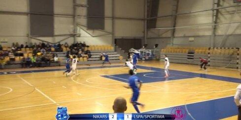 Telpu futbols - 'FK NIKARS' - 'LSPA/SPORTIMA' - 21. marta spēles vārtu guvumi