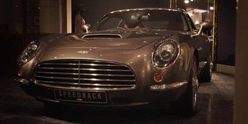 Retro stila britu auto uz 'Jaguar XKR' bāzes