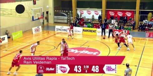 'OlyBet' basketbola līgas TOP5 (06.11.2018)