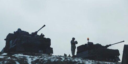 'Tanku mednieka' – kaujas bruņumašīnas 'Zobens' - pirmās ugunskristības