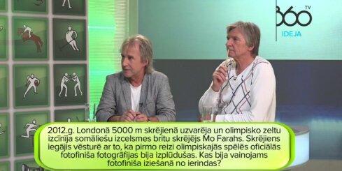 Viktos Lapčenoks un Uldis Marhilevičs raidījumā 'Vai zini vairāk par Kreipānu?'