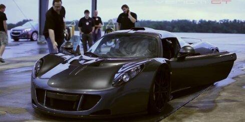 'Hennessey Venom GT' uzstāda ātruma rekordu