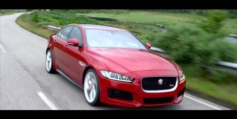 'Jaguar' prezentējis vidējās klases sedanu 'XE'