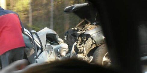 Smaga autoavārija pie Plakanciema