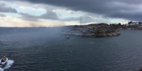 Norvēģijā nogāzies helikopters ar vismaz 14 cilvēkiem