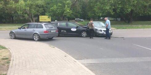 Autoavārija Rīgā
